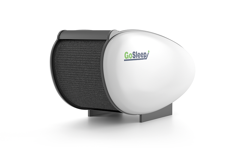 gosleep sleeping resting pod behind